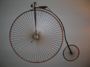 High Wheeled Bike Sculpture